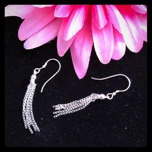 Jewelry - SS Tassel Earrings